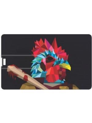 Printland Abstract Animal PC89097 8 GB Pen Drive(Multicolor)