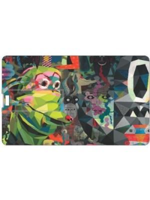 Printland Abstract PC87832 8 GB Pen Drive(Multicolor)