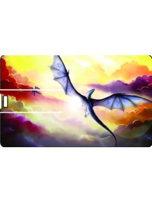 Printland Credit Card Fly 8 GB Pen Drive(Multicolor)