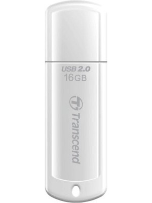 Transcend JetFlash 370 16 GB Pen Drive(White)