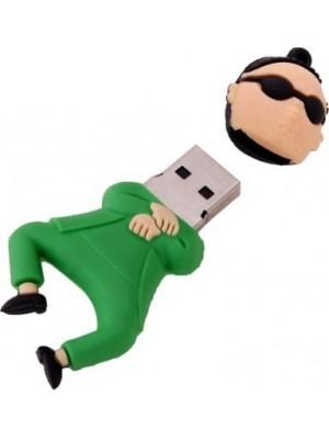 Yes Celebration Gangnam Style 8 GB Pen Drive(Green)