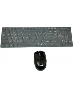 AVB Ad 515 Standard Keeboard Wireless Laptop Keyboard(Black)