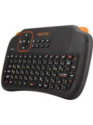 HiTechCart Viboton S1 English 3-in-1 + Air Mouse + Remote Control With Touchpad Wireless Laptop Keyb