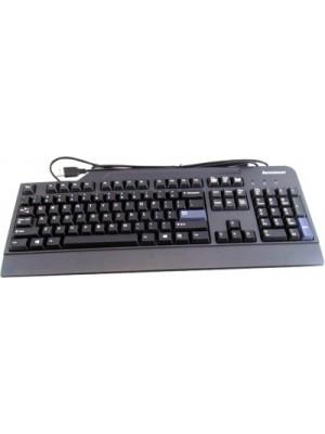 Lenovo KU-0225 Wired USB Laptop Keyboard(Black)