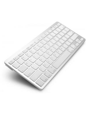 Tech Gear Ultraslim Wireless Bluetooth Laptop Keyboard(White)