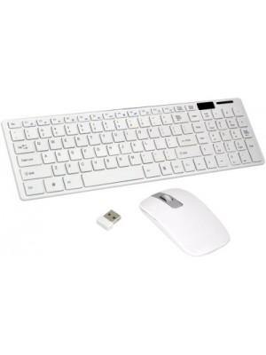 Terabyte TB-Wireless Wireless Laptop Keyboard(White)