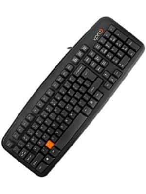 Xpro XP 106 Wired USB Laptop Keyboard(Black)