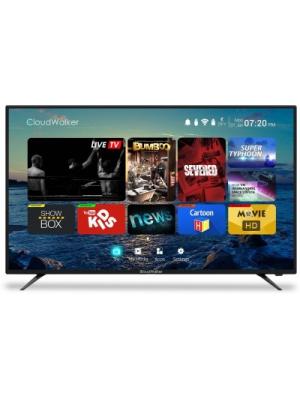 CloudWalker Cloud TV 139cm (55) Ultra HD (4K) Smart LED TV(CLOUD TV 55SU, 3 x HDMI, 2 x USB)