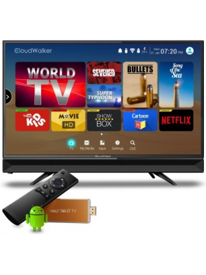 CloudWalker Cloud TV 60cm (23.6) HD Ready LED TV(CLOUD TV 24AH, 1 x HDMI, 1 x USB)