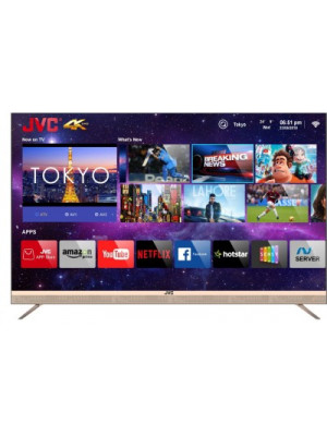 JVC Quantum Backlit LT-55N7105C 55 Inch Ultra HD 4K Smart LED TV