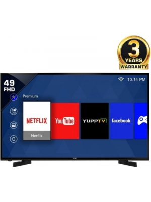 Vu 124cm (49) Full HD Smart LED TV(49S6575, 3 x HDMI, 2 x USB)