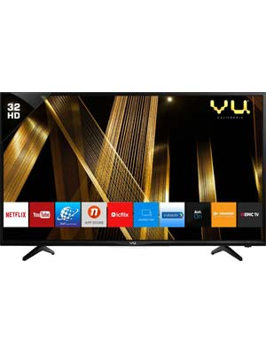 Vu 80cm (32) HD Ready Smart LED TV(32D6475_HD smart, 2 x HDMI, 2 x USB)