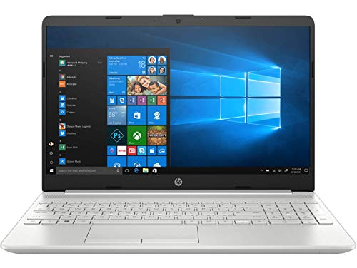 HP 15 10th Gen Core i5 15.6-inch FHD Laptop (i5-10210U/8GB/1TB HDD + 256GB SSD/Win 10/MS Office/2GB NVIDIA GeForce MX130 Graphics/Natural Silver/1.74kg), 15s dr1000tx