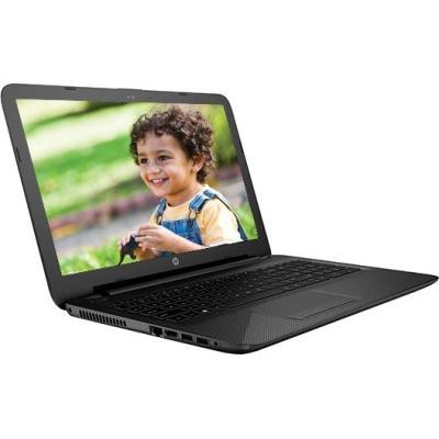 HP Pentium Dual Core - (4 GB/1 TB HDD/Windows 10 Home) P6M78PA 15-ac173TU Notebook(15.6 inch, Jack Black Color With Textured Diamond Pattern)