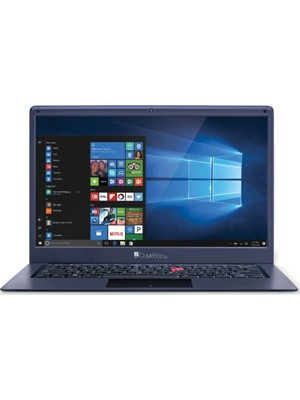 iBall CompBook Exemplaire Plus Laptop(4GB RAM/ 1TB HDD/ 32GB SSD/ Windows 10)