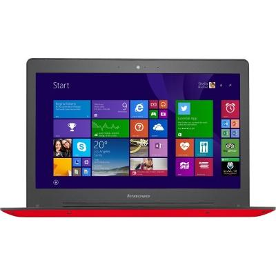 Lenovo Core i5 - (4 GB/1 TB HDD/8 GB SSD/Windows 8.1/2 GB Graphics) 80JV007XIN U41-70 Notebook(14 inch, Red, 1.68 kg)