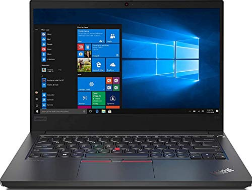 Lenovo ThinkPad E14 Intel Core i3 10th Gen 14-inch Full HD Thin and Light Laptop (4GB RAM/ 256GB SSD/ Windows 10 Home/ Microsoft Office Home & Student 2019/ Black/ 1.69 kg), 20RAS0WH00