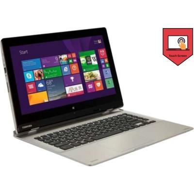 Toshiba Satellite L30W-B I0110 Notebook (4th Gen Ci3/ 4GB/ 500GB/ Win8.1/ Touch/ Detachable) (PSDM5G-004008)(13.17 inch, Premium SMart SIlver, 2.2 kg)