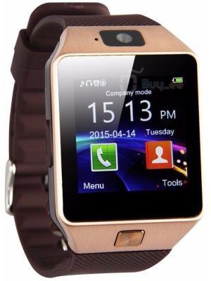 VibeX ® DZ-09 Mobile With GSM SIM Card & Camera Bluetooth Gold Smartwatch